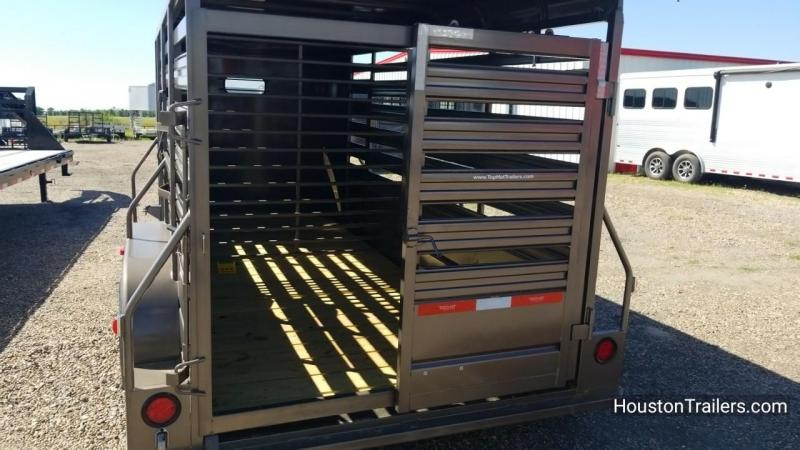 2018 Top Hat Trailers 16' Brahma CT 10k Livestock Trailer th-132