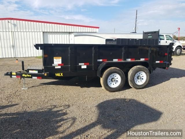 "2018 Big Tex Trailers 14LX  14' x 83"" Dump Trailer BX-114"