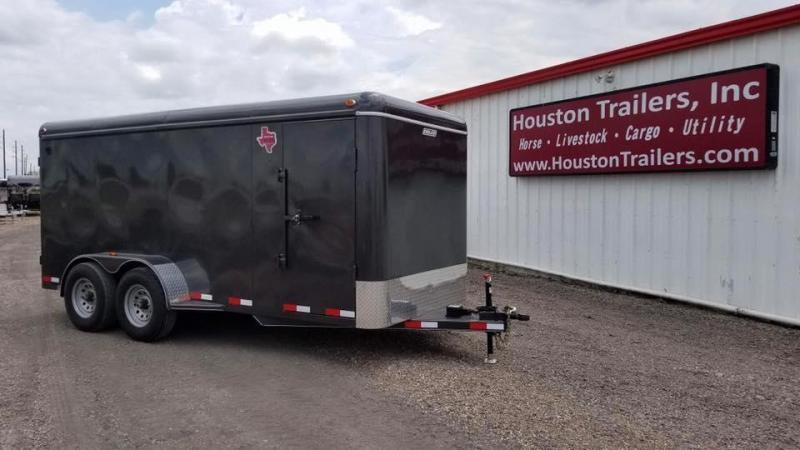 "2017 Delco Trailers 16' x 6'8"" Enclosed Cargo Trailer DEL-22"