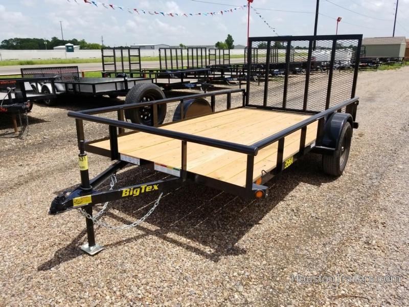 """2019 Big Tex Trailers 77"""" x 14' 35SA Utility Trailer BX-155"""