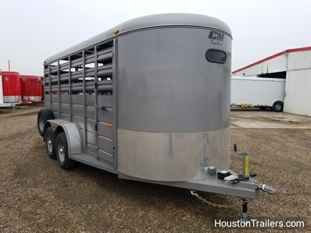 2018 CM Stocker 16' Livestock / Cattle Trailer CM-39