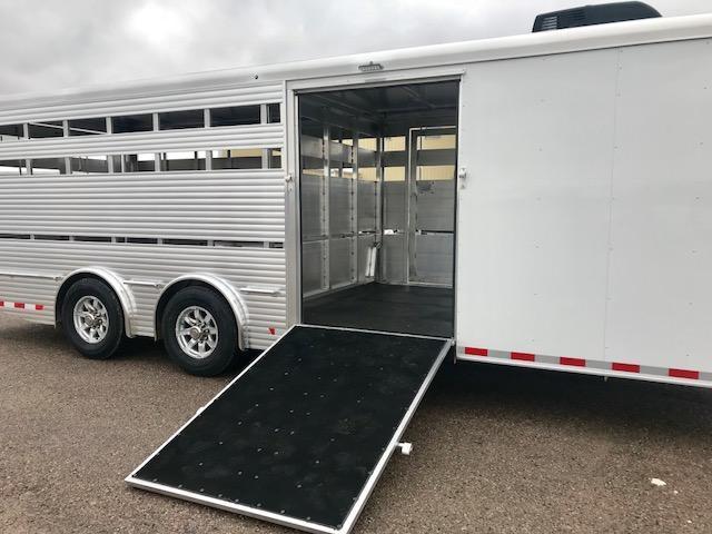 2019 Sundowner Trailers Special Order Rancher Show Stock Combo Livestock Trailer