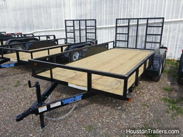 "2018 Top Hat 14' x 77"" LDT Utility Trailer TH-122"