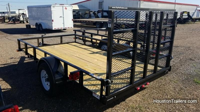 "2018 Top Hat Trailers 12' x 77"" DSA Utility Trailer TH-127"