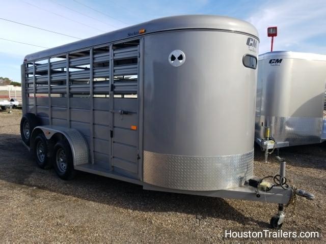 2015 CM Trailers 16' Stocker Livestock Trailer CO-1028