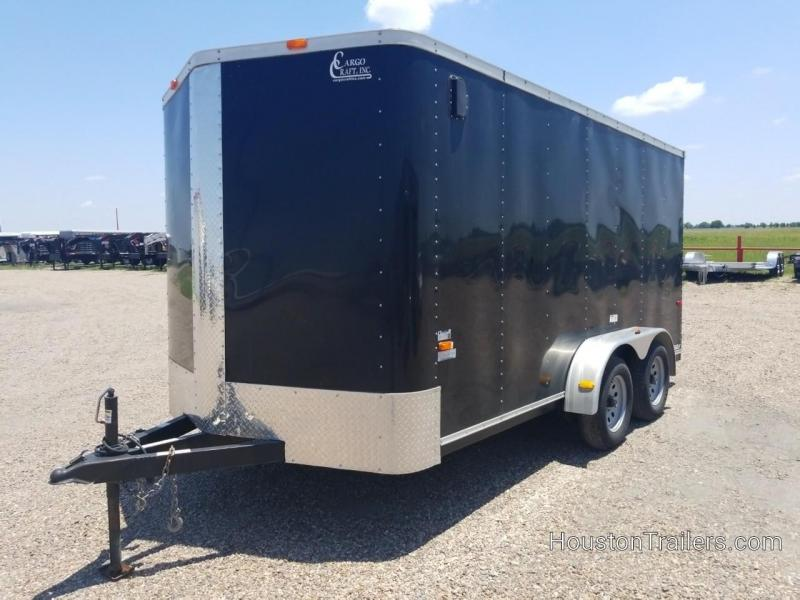 2014 Cargo Craft 16' Enclosed Cargo Trailer CO-1037