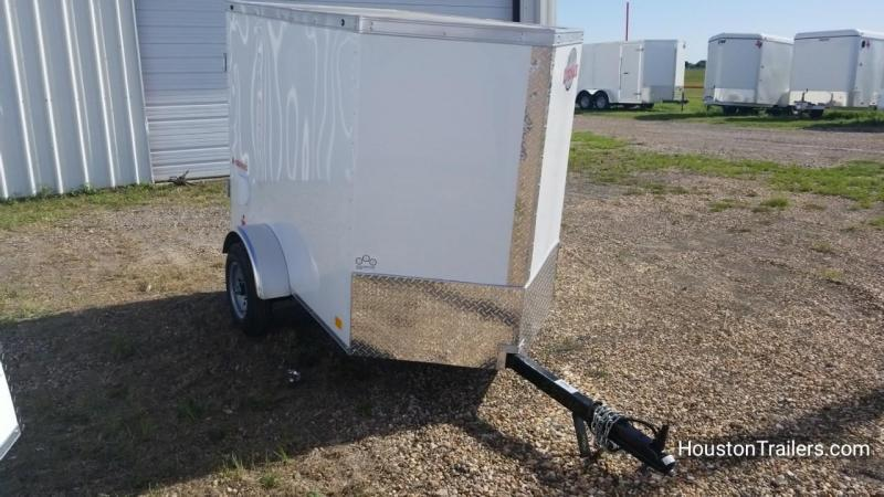 2019 Cargo Mate 4' x 6' Enclosed Cargo Trailer FR-50