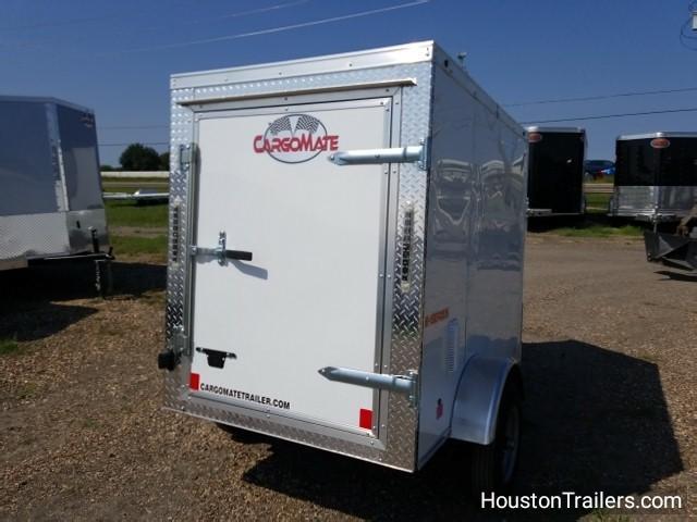 2018 Cargo Mate 4' x 6' SA Enclosed Cargo Trailer FR-35