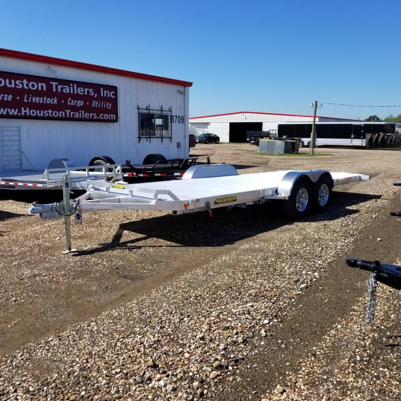 "2018 Aluma 6'8"" x 20' 8220 HTILT Car / Racing Trailer AL-28"