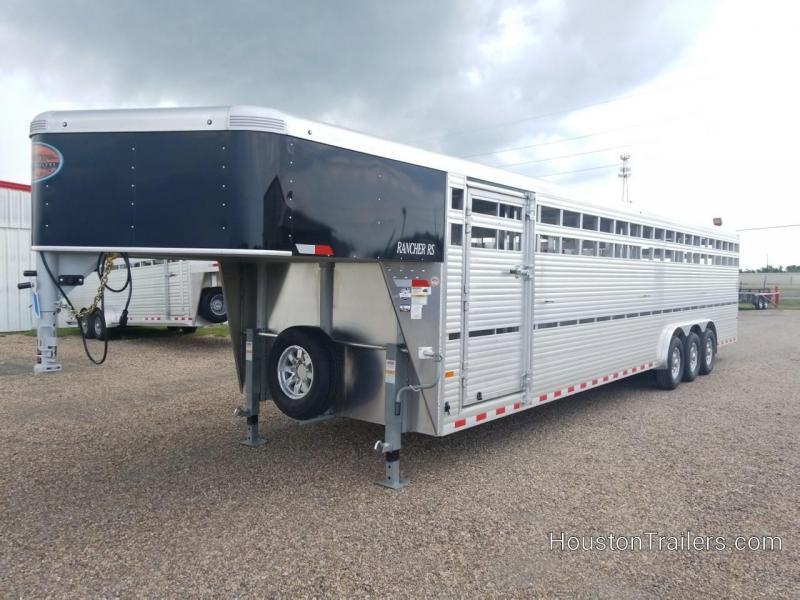 """2019 Sundowner Trailers 32' x 8' Rancher RS Livestock Trailer """"On Order"""""""