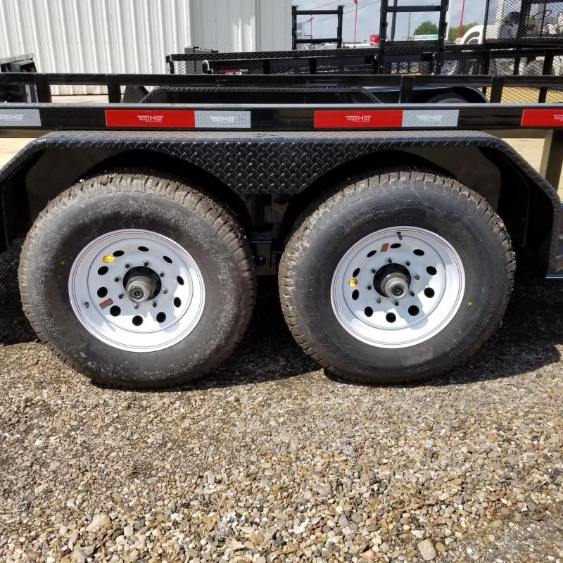 2018 Top Hat Trailers 16' x 7' HH Utility Trailer TH-89