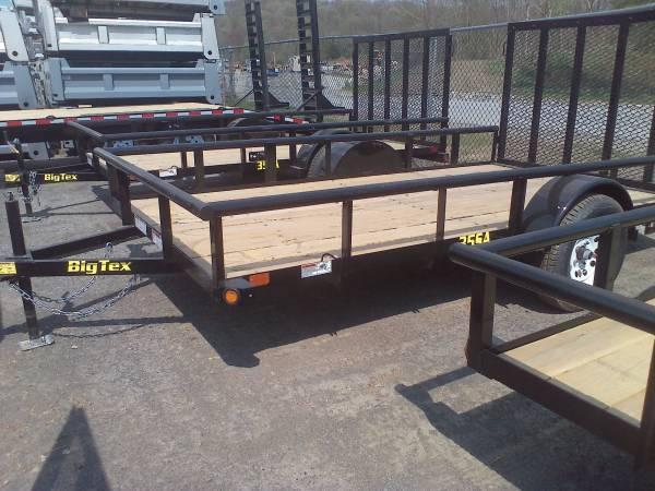 BIGTEX 2017 35SA 6.5' x 12' SINGLE AXLE UTILITY TRAILER