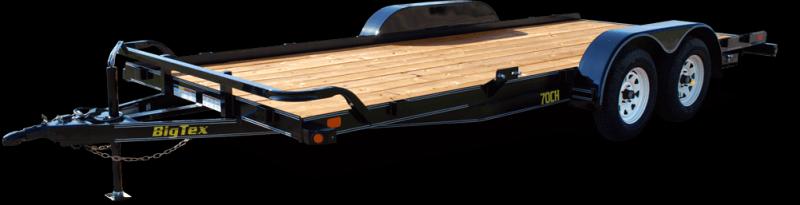 BIGTEX 2017 70CH 7' x 20' TANDEM AXLE CAR HAULER
