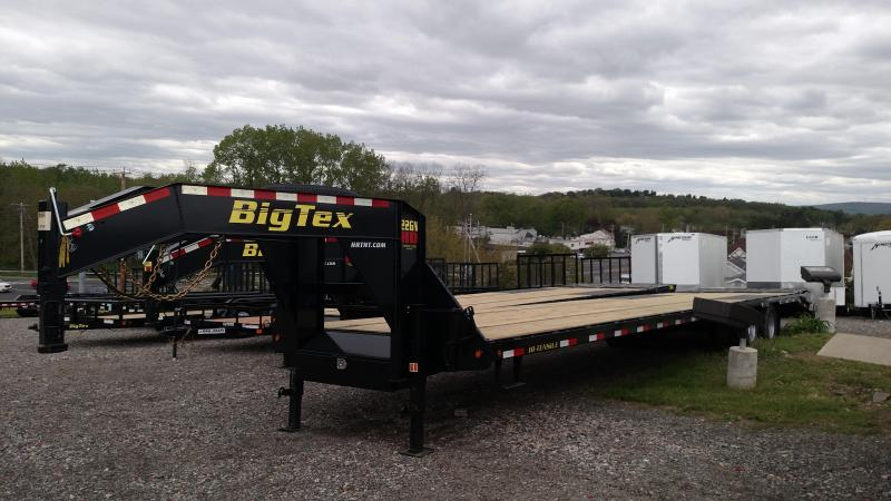 BIGTEX 2017 22GN- 35' HD TANDEM AXLE GOOSENECK EQUIPMENT TRAILER. ON SALE: ASK FOR BILL.