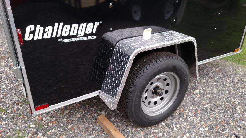 Homesteader 2018  5' x 8' Challenger Enclosed Cargo Trailer
