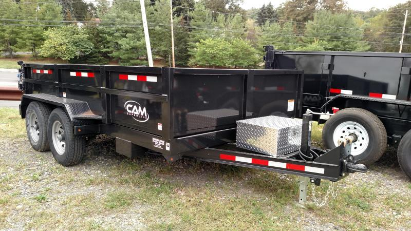 CAM 2018 6' x 12' LOW PROFILE HEAVY DUTY DUMP TRAILER