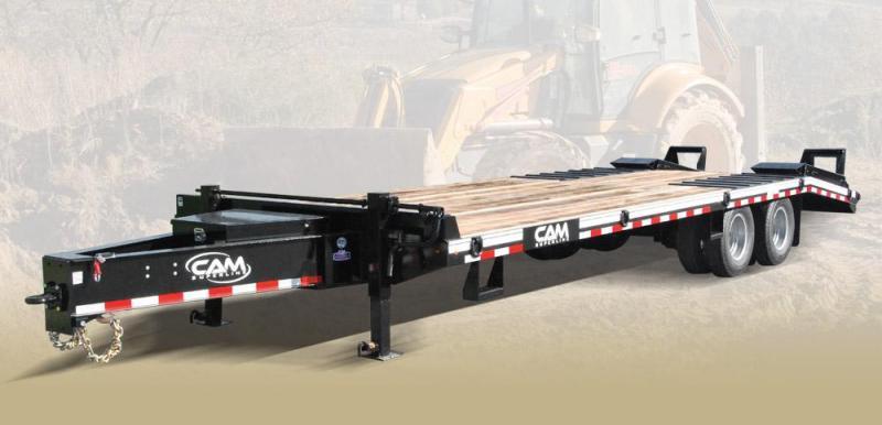 CAM 2018 10CAM825TE Heavy Duty Deckover Construction Trailer