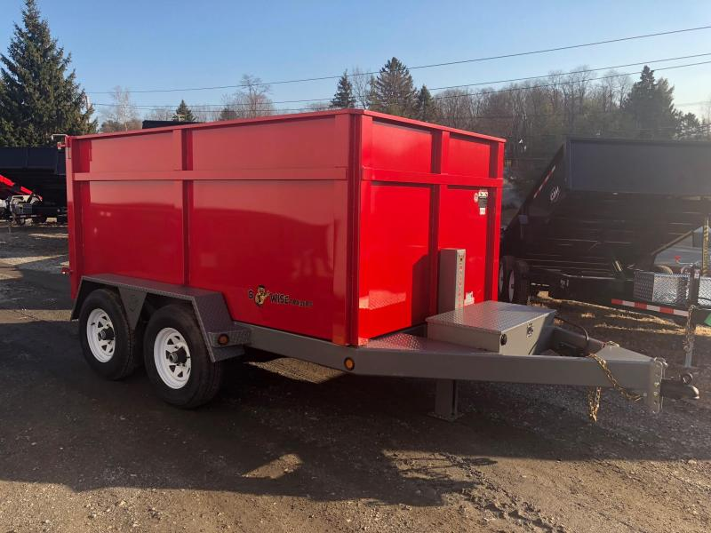 BWISE 2017 6' x 10'  RED DUMP TRAILER (DLP10-10). ** ON SALE. PLEASE ASK FOR BILL **