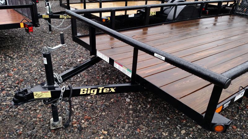 BIGTEX 2018 35 SINGLE AXLE 5.5' x 14' UTILITY TRAILER