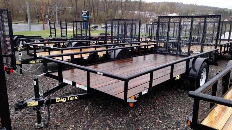 BIGTEX 2017 35SA 6.5' x 14' SINGLE AXLE UTILITY TRAILER