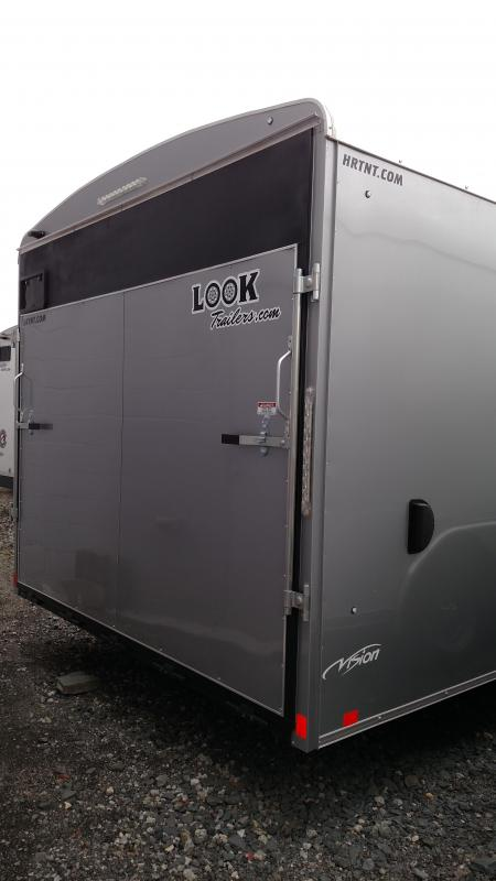 LOOK 2017 SILVER VISION 8.5' X 20' TRAILER with LANDSCAPE PACKAGE