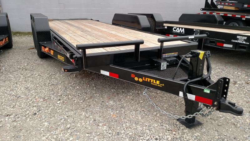 DOOLITTLE 2017 80 x 20 EZ LOADER UTILITY TRAILER