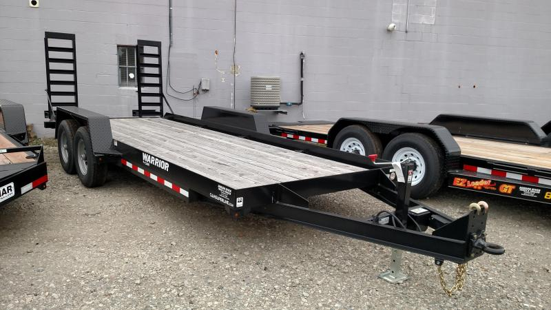 CAM 2017 18'  4-TON Warrior UTILITY TRAILER