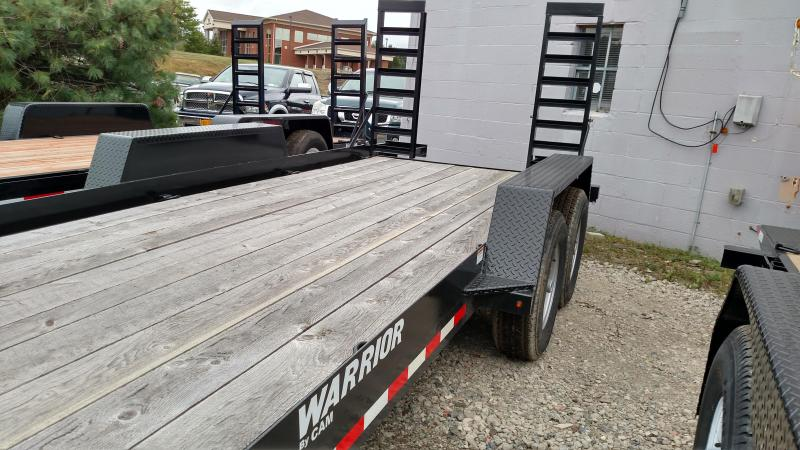 CAM 2017 18'  4-TON Warrior UTILITY TRAILER. ON SALE. PLEASE ASK FOR BILL.
