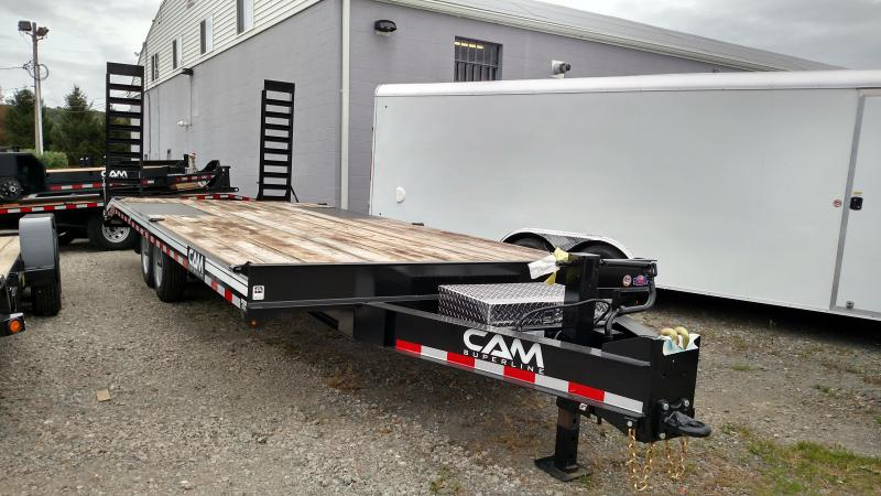 CAM 2018 8 X 24 DECKOVER EQUIPMENT TRAILER