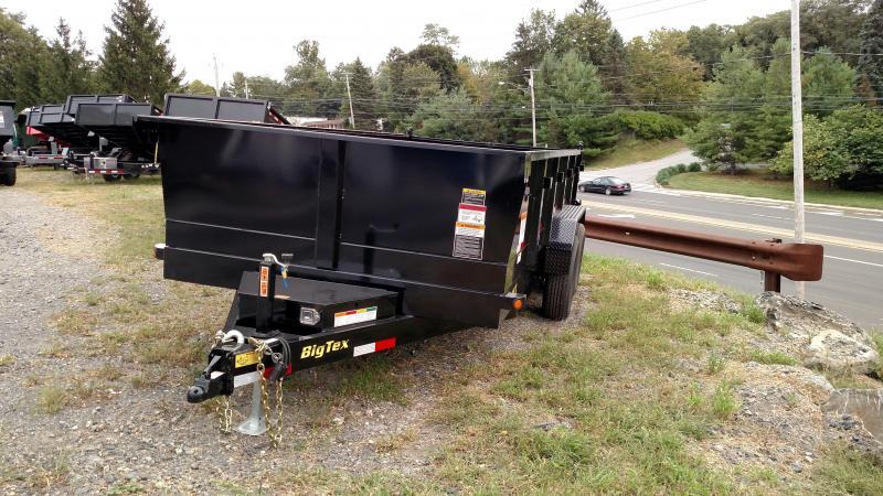 BIGTEX 2017 7' x 16'  14LX Heavy Duty Tandem Axle Extra Wide Dump