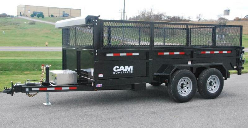 CAM 2017 6 X 12 DUMP TRAILER