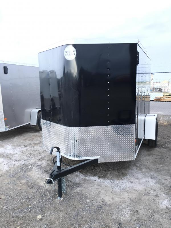 2017 Wells Cargo FT6101 Cargo / Enclosed Trailer