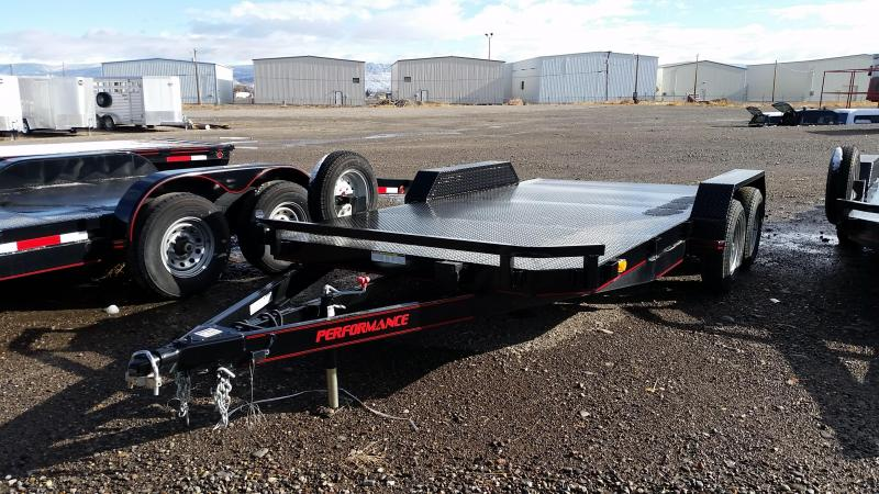 2015 Parker Trailers 18' Steel Deck Car Trailer