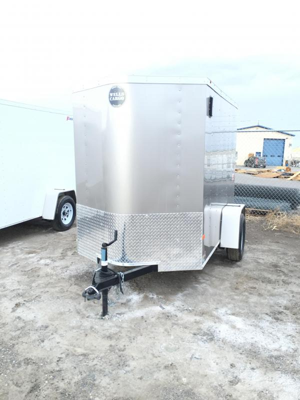 2016 Wells Cargo FT581 Cargo / Enclosed Trailer