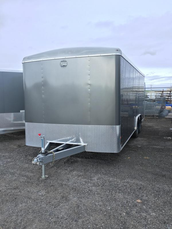2016 Wells Cargo RF85x204 Cargo / Enclosed Trailer