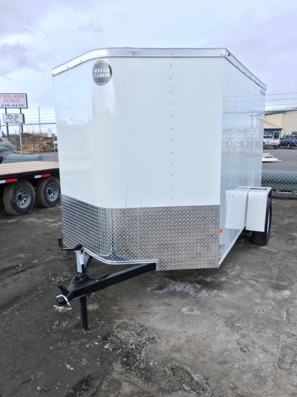 2017 Wells Cargo FT6101 Cargo / Enclosed Trailer