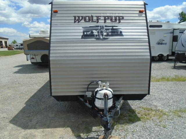 2015 Forest River Inc. WOLF PUP Toy Hauler