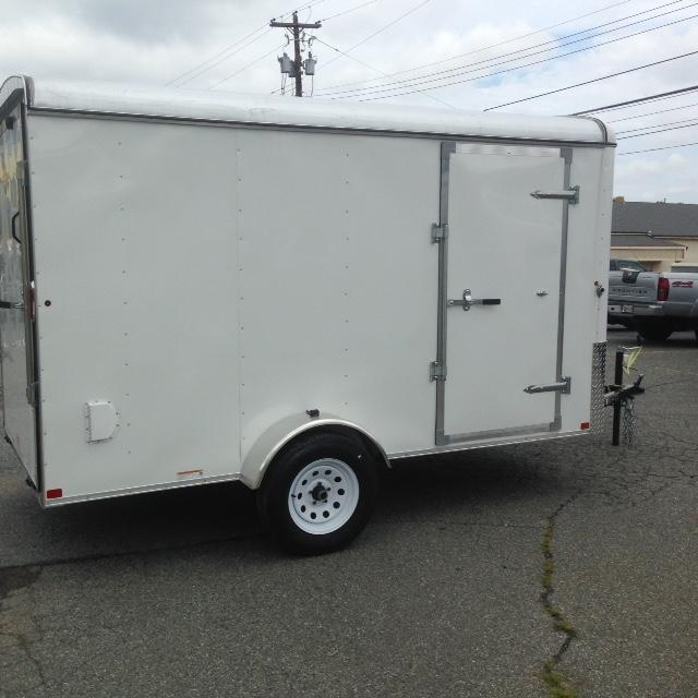2015 Carry-On 6x12CGWhite Cargo / Enclosed Trailer