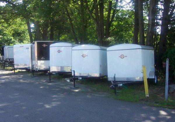 LARGE INVENTORY OF 2016 OPEN AND ENCLOSED TRAILERS