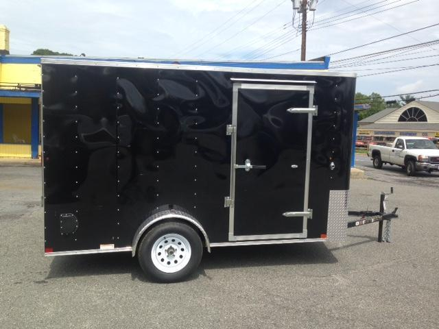 2015 Carry-On 7x12 Bull Nose Cargo Trailer with Ramp Cargo / Enclosed Trailer