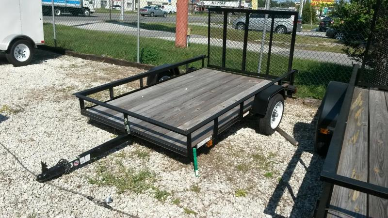 2014 carriage inc 5x10 wood floor utility trailer for 5x10 wood floor trailer