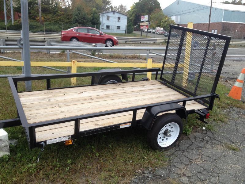 2014 Carry-On  4x8 Wood Floor Utility Trailer