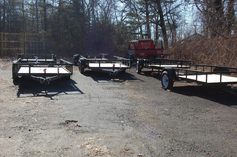 2014 Carry-On 5x8 Wood Floor Utility Trailer with Liner