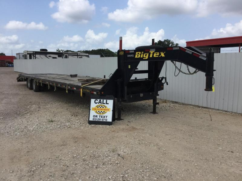 2012 Big Tex Trailers 40 X 102 WIDE FLAT DECK Flatbed Trailer
