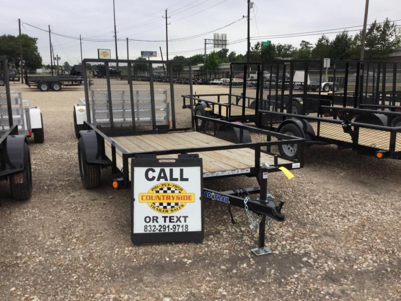 2017 Load Trail 77 X 10 SINGLE AXLE WITH TAIL GATE Utility Trailer