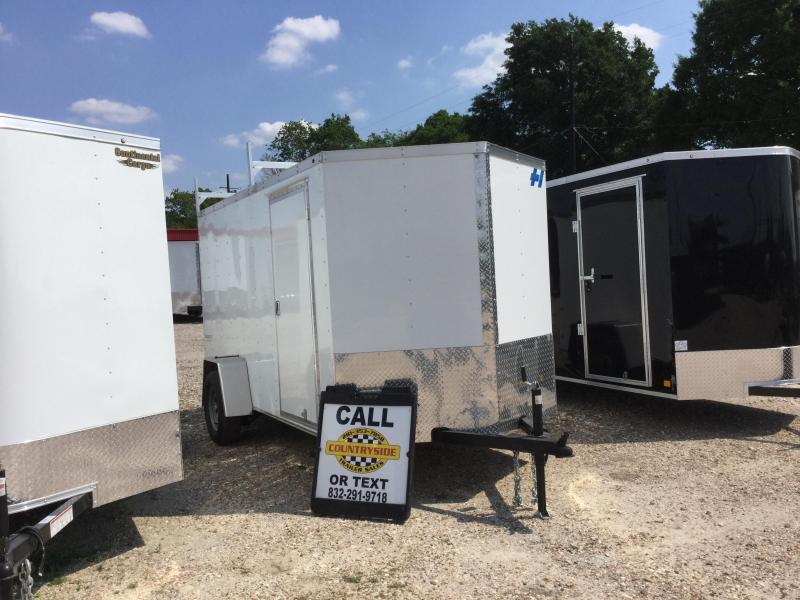 2017 Haulmark TH6X12DS2 Enclosed Cargo Trailer