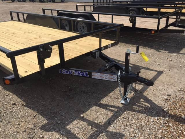 2017 Load Trail 83 X 16 Tandem Axle Utilty
