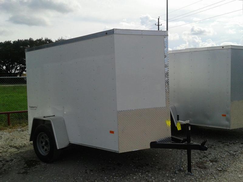 2017 Haulmark TH5X8DS2 Enclosed Cargo Trailer