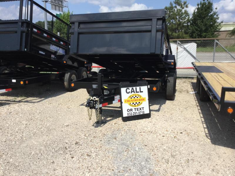 2017 Load Max 12 X 83 TRAILER DUMP WITH RAMPS Dump Trailer