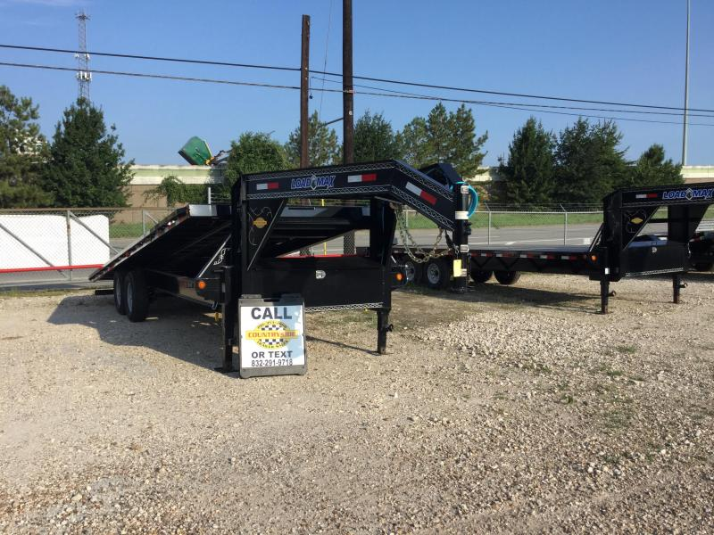 2017 Load Trail 24 X 102 WIDE TRAILER CAR HAULER WITH POWER Car / Racing Trailer